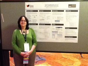 Geraldine at the all Science Poster Session, SLA Annual Conference 2011 in Philadelphia
