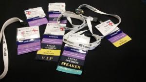SLA Conference Lanyards