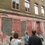 One of the most photographed and filmed buildings in the area is this partially unrestored building. Photo: Andrew Grave